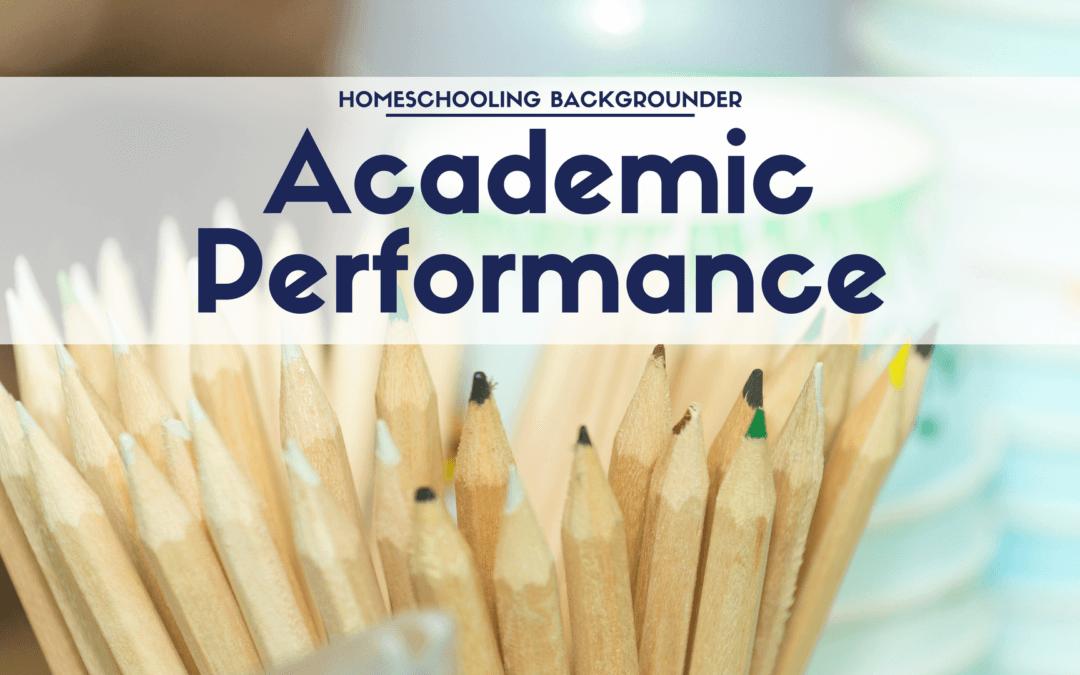 Average Academic Performance of Homeschooled Students
