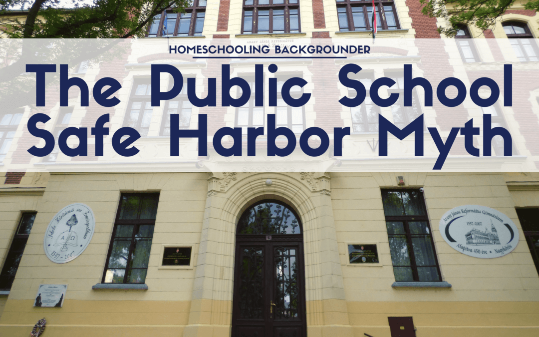 Child Abuse: The Public School Safe Harbor Myth