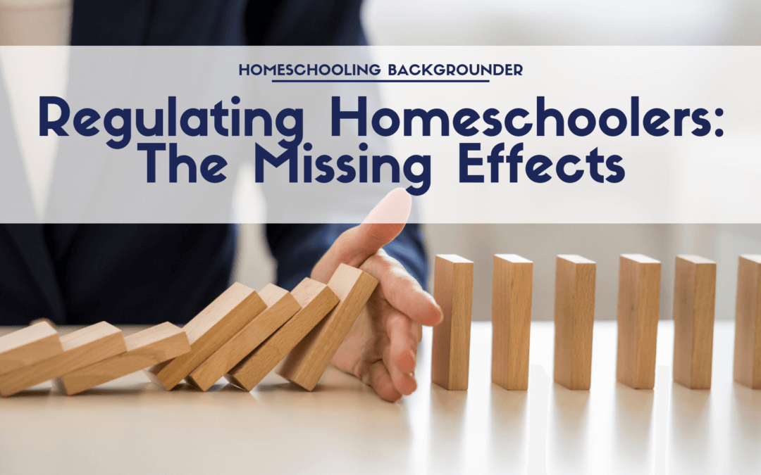 Regulating Homeschoolers: The Missing Effects