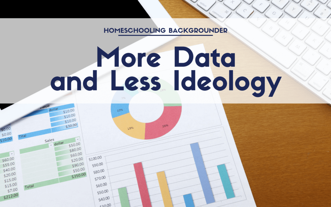 An Argument For More Data and Less Ideology