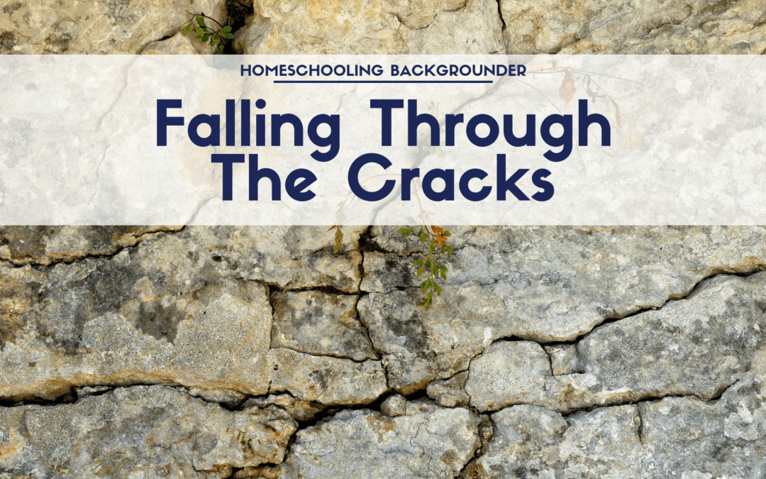 Falling through the cracks: Public school vs. homeschool