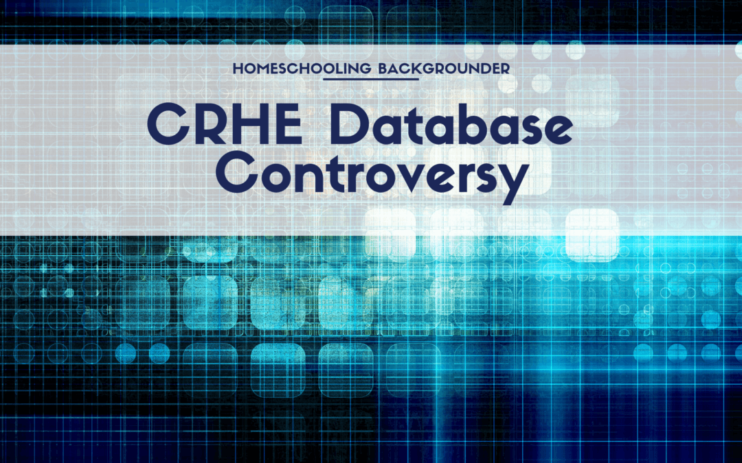 CRHE Database Controversy