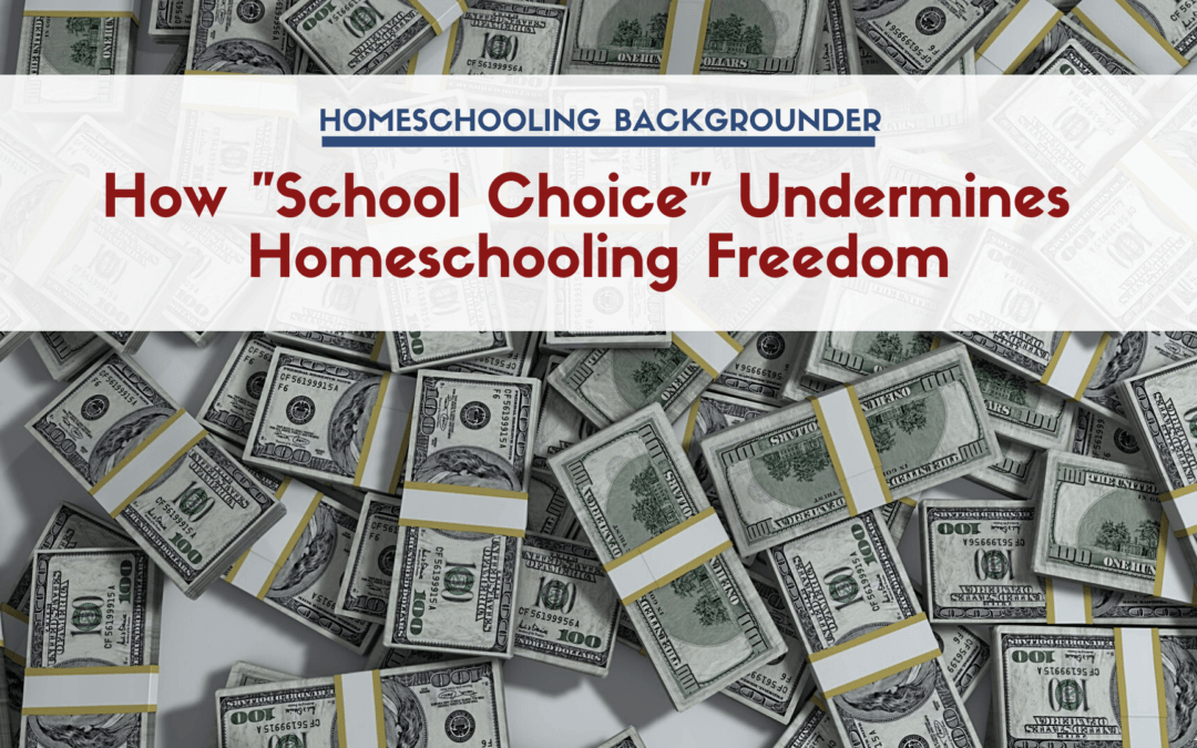 "How ""School Choice"" Undermines Homeschooling Freedom"